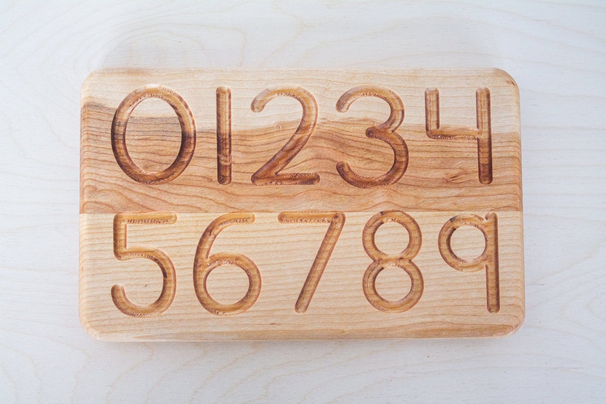 Numbers Tracing Board - The Montessori Room- Little Monkeys