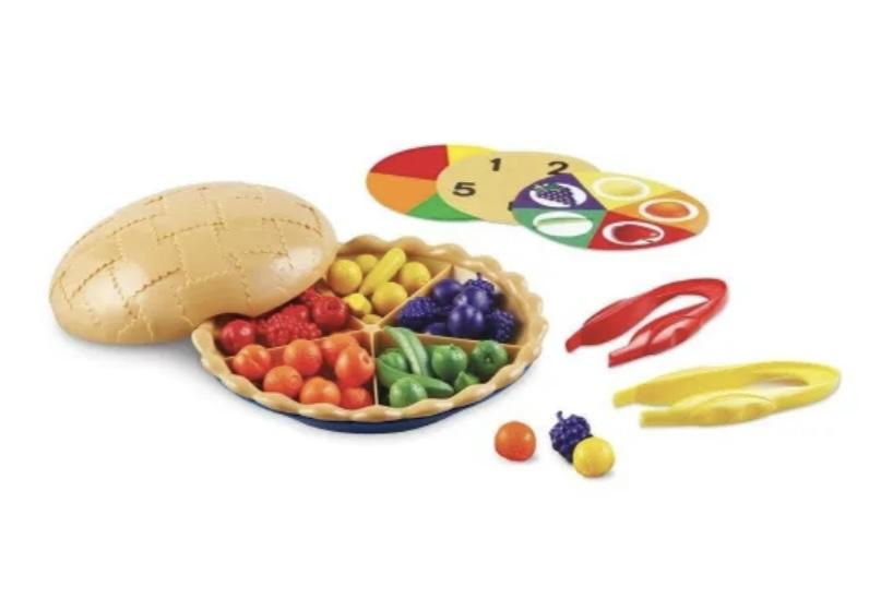 Super Sorting Pie - The Montessori Room Peaceable Kingdom