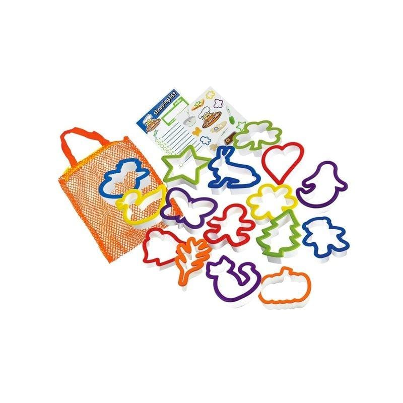 Toddler Cookie Cutter Set (16 Pieces) - The Montessori Room Curious Chef