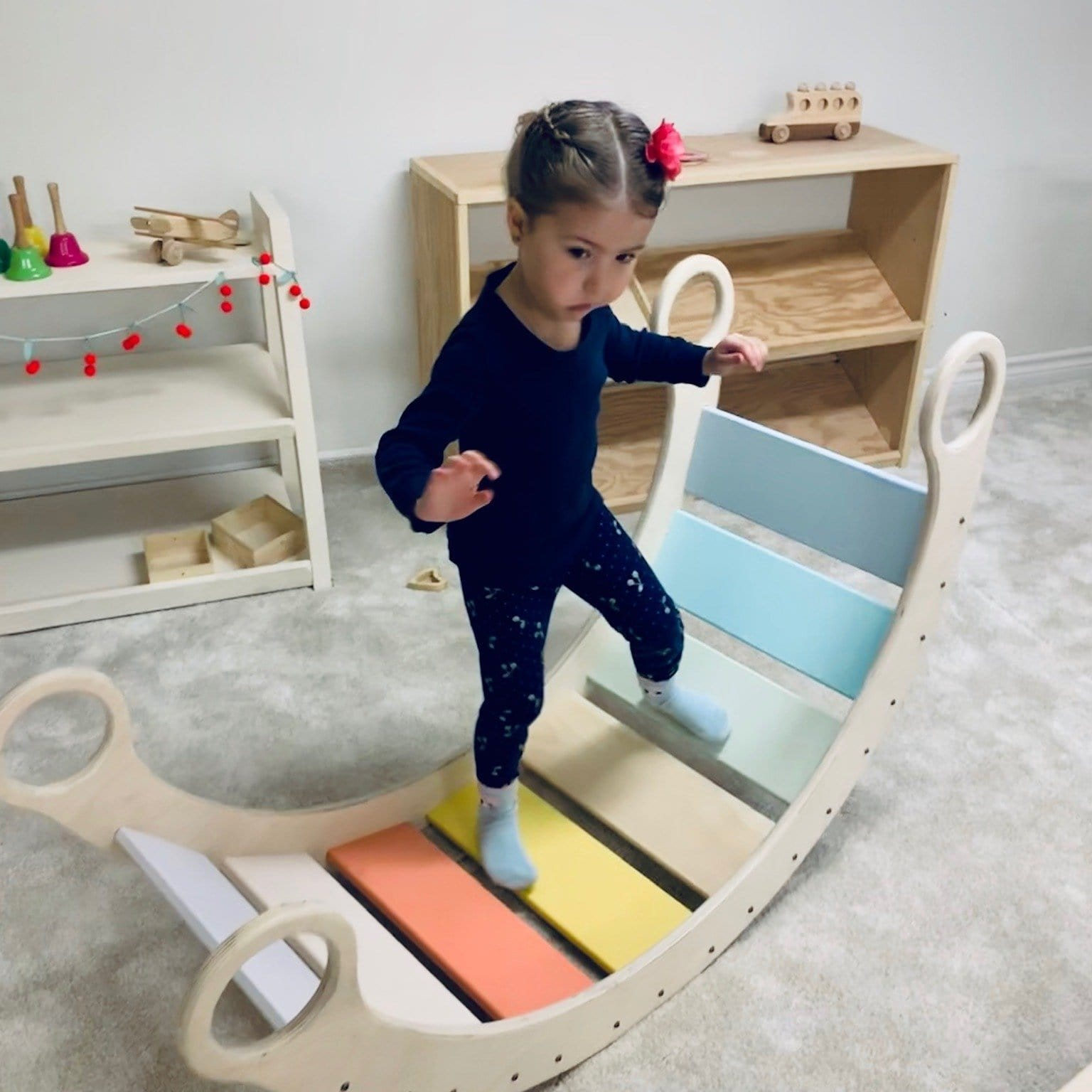 Waldorf Rocker Board - The Montessori Room