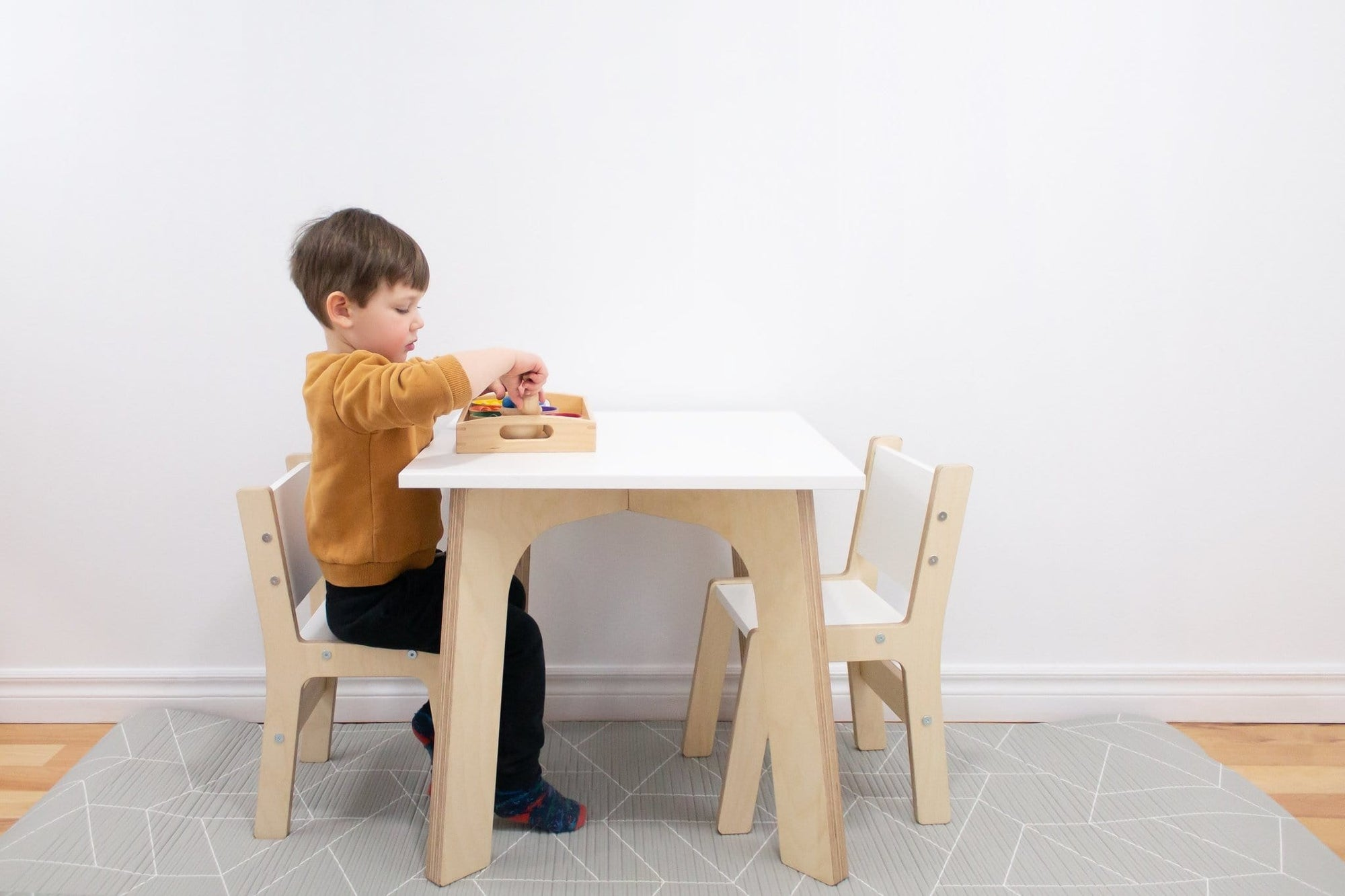 Weaning Table and Chairs - The Montessori Room