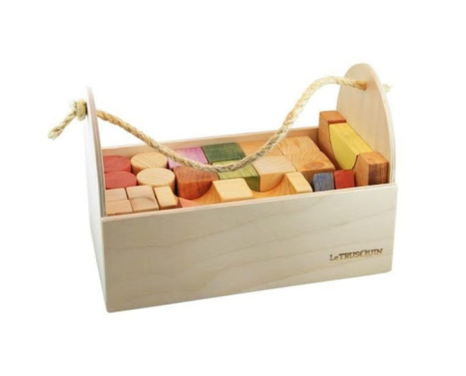 Wooden Blocks Set - The Montessori Room Le Trusquin Boutique Made in Quebec