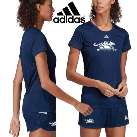 Womens Middlebury Panther Shirt (Adidas)