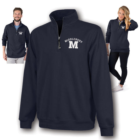 Middlebury Quarter Zip Sweatshirt