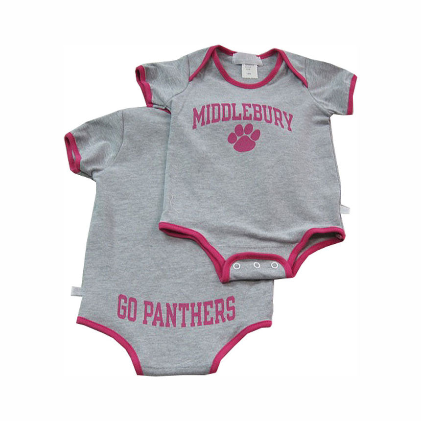Go Panthers! Infant Shirt (fuchsia)