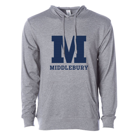 Middlebury Hooded T-Shirt (grey)
