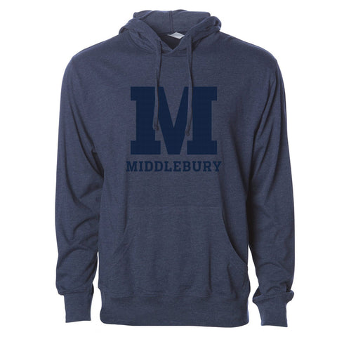 Middlebury Hooded T-Shirt (navy)