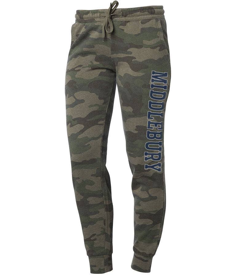 Middlebury Women's Jogger Pants (camo)