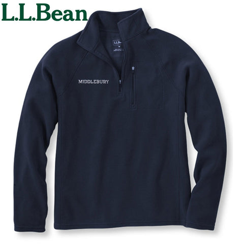 Men's Middlebury Quarter-zip Fitness Fleece