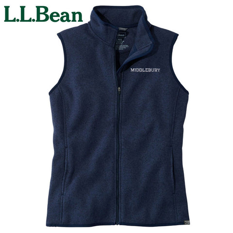 Women's Middlebury Sweater Fleece Vest
