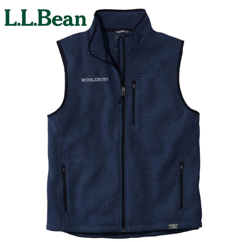 Men's Middlebury Sweater Fleece Vest