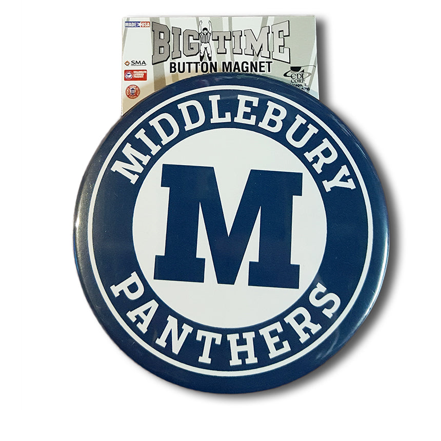 Middlebury Button Magnet