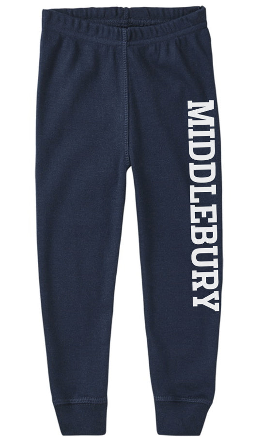 Middlebury Baby Pajama Pants (navy)