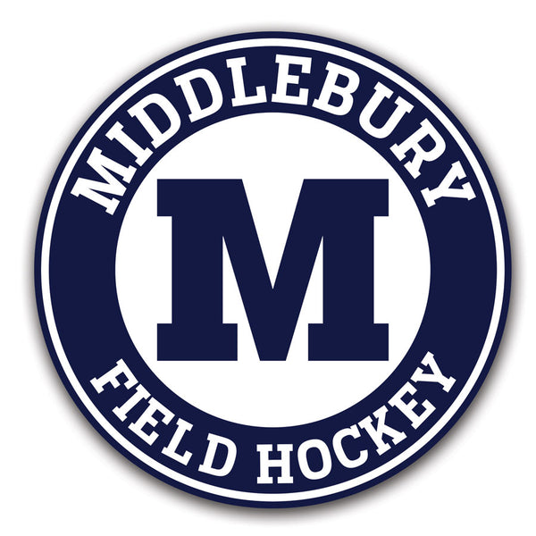 Middlebury Field Hockey Decals