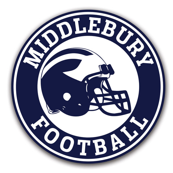 Middlebury Football Decals