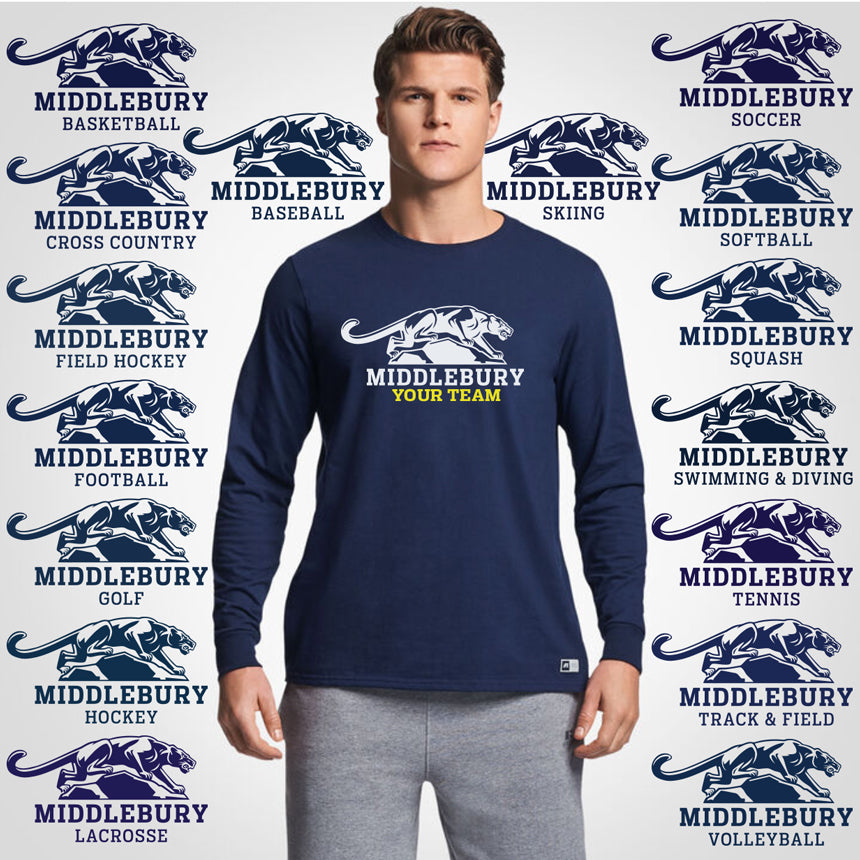 Middlebury Panther Team Long Sleeve