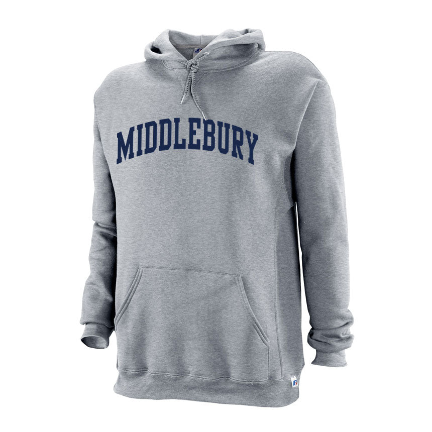 Classic Middlebury Hooded Sweatshirt (Grey)