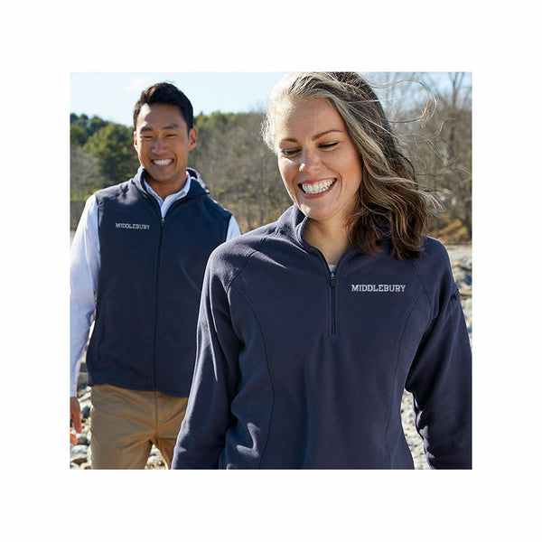 Women's Middlebury Quarter-zip Fitness Fleece