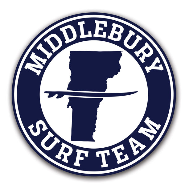 Middlebury Surf Team Decals