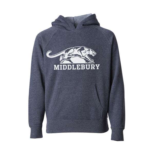 Middlebury Toddler Panther Hood (H. Navy)