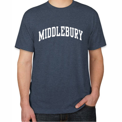 Middlebury T-Shirt, TriBlend (navy)