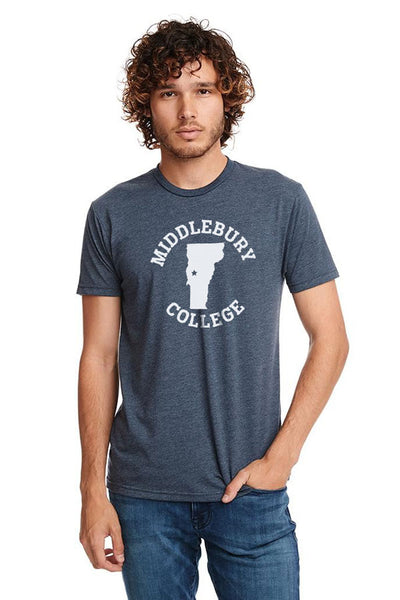 Middlebury College - Vermont Tee (navy)