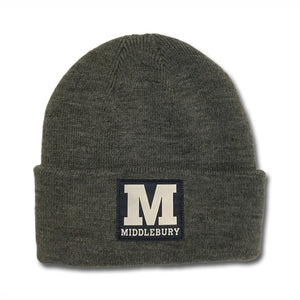 Middlebury Cuff Knit Hat (Grey)