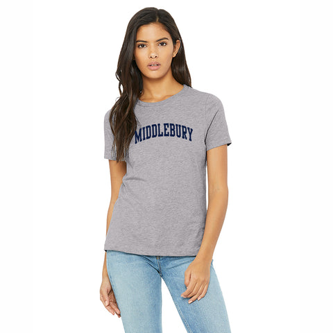 Middlebury (Soft Blend) Womens Tee (grey)