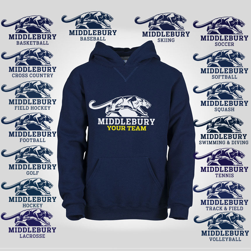 Middlebury Youth Panther Team Hoodie