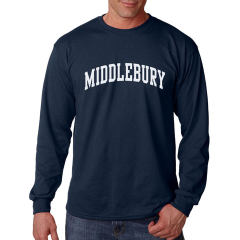 Middlebury Long Sleeve Tee (navy)