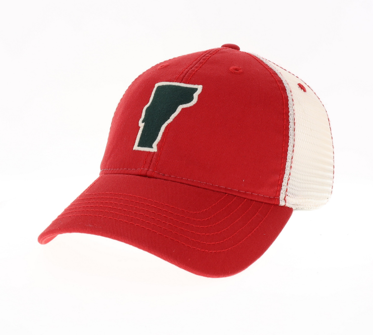 Vermonter Trucker Hat (red)