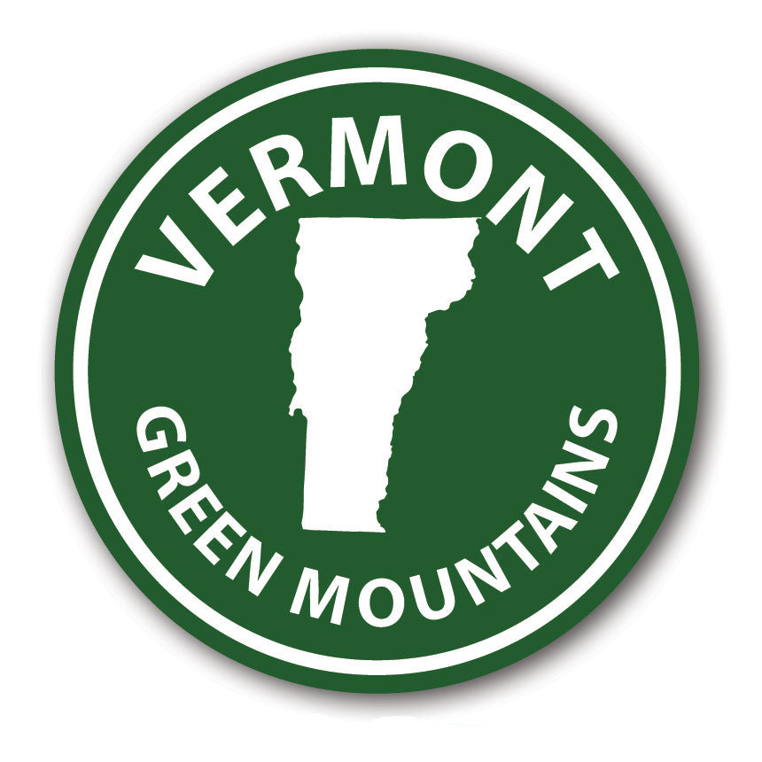 Vermont Green Mountains Sticker