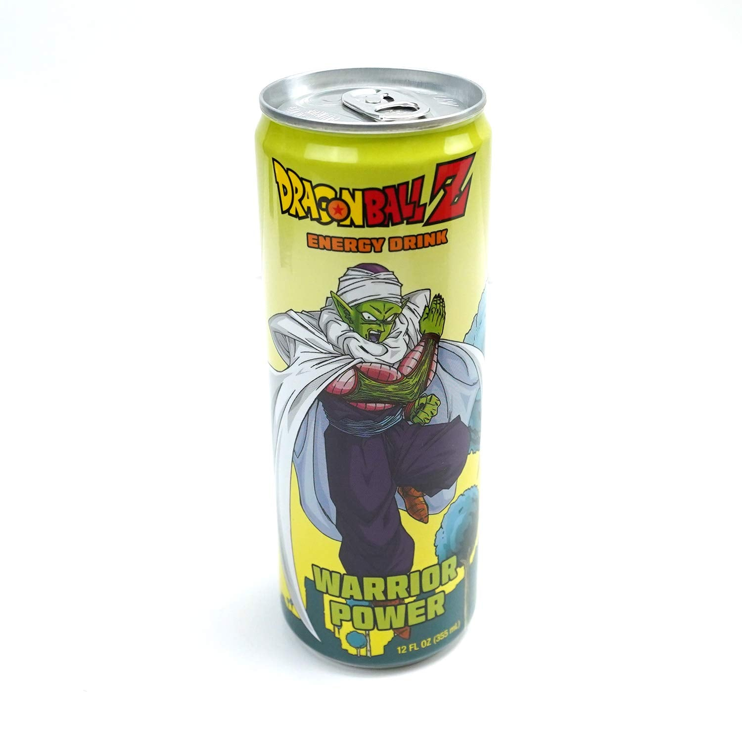 Dragonball Z Warrior Power and Power Boost Energy Drink 12 FL OZ (355mL) Can (2 Pack) with 2 GosuToys Stickers