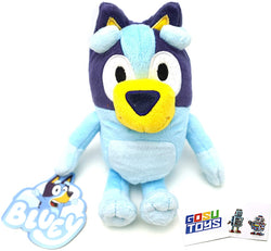 Bluey Friends 8 Inch Bluey Plush with 2 GosuToys Stickers