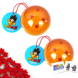 DragonBall Z Dragon Ball Star Candy Tin Star Shaped Candy (2 Pack - Star Number on tin vary) with 2 GosuToys Stickers