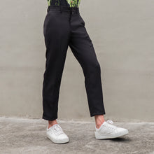 Load image into Gallery viewer, Easy Ankle Trousers | Black