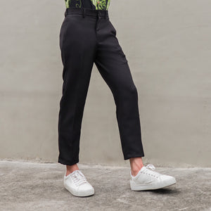 Easy Ankle Trousers | Black