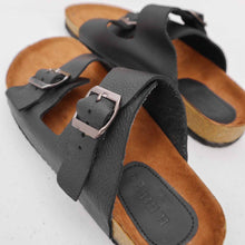 Load image into Gallery viewer, Classic Gentleman Sandals | Black