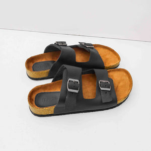 Classic Gentleman Sandals | Black