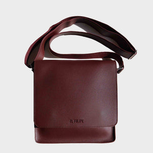 E.V.L. Messenger Bag | Dark Brown