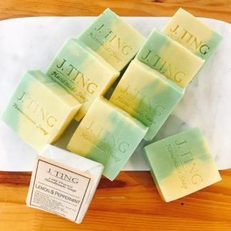 Lemon & Peppermint Soap