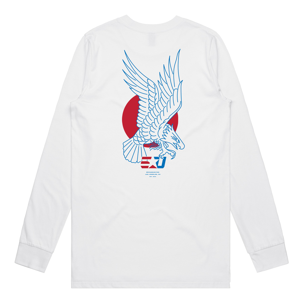 eUnited Eagle Longsleeve Tee - White
