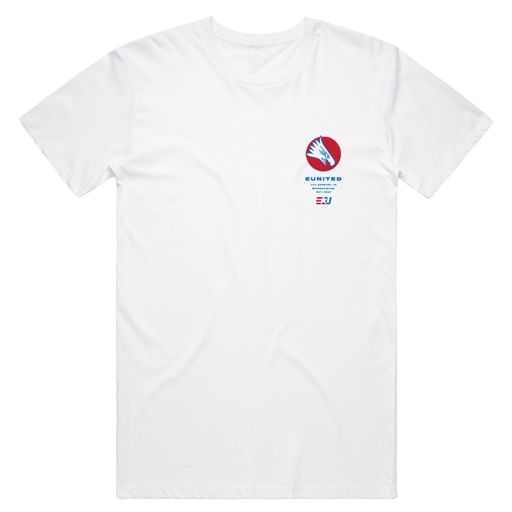 eUnited Eagle Shortsleeve Tee - White