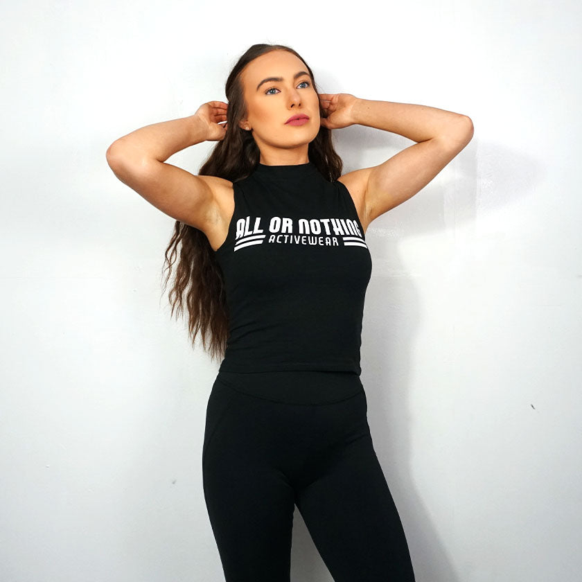 All or Nothing - Women's High Crop Neck