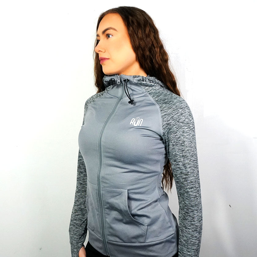All or Nothing - Women's Sports Zip Hoodie