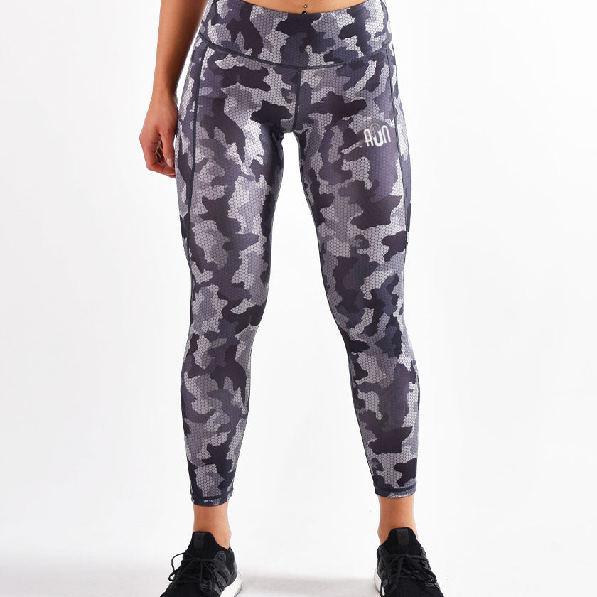 All or Nothing - Women's Black Camo Leggings