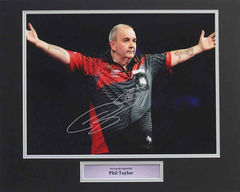 PHIL TAYLOR - THE POWER - PHOTO - PRE-FRAMED