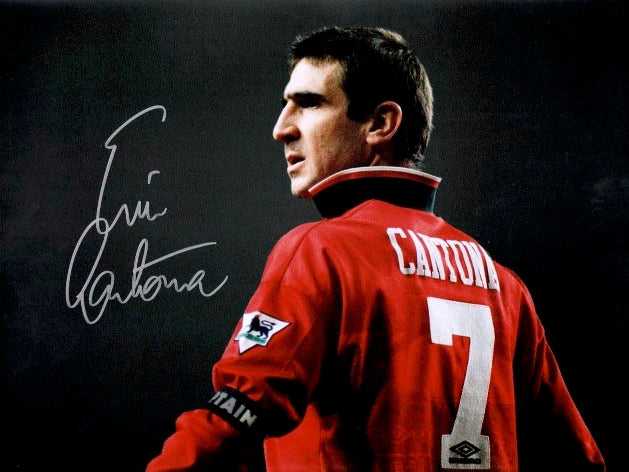 ERIC CANTONA - THE LEGEND OF MANCHESTER UNITED - PHOTO