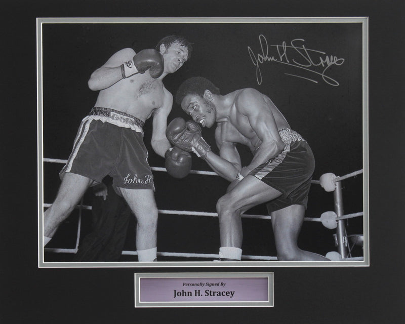JOHN H STRACEY VS HEDGEMON LEWIS - PRE-FRAMED
