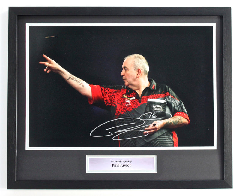 PHIL TAYLOR - THE OCHE 2018 - 18X12 - CLASSIC FRAME
